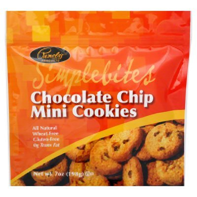 Pamela's Products Simple Bites Mini Cookies, Chocolate Chip, 7 oz Pouches, 2 pk