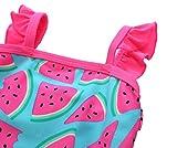 BeautyIn Baby Girls Cute Fruits Ruffle One Piece