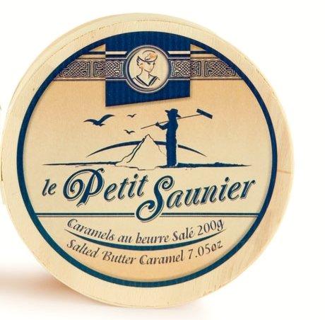 French Salted Butter (La Maison d'Armorine, Le Petit Saunier Caramel au beurre Sale (French Salted Butter Caramels), 7 Ounces)
