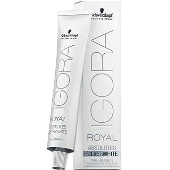 Comprar Schwarzkopf Professional Igora Royal Absolutes Silverwhite Grey Lilac - 60 ml (4045787320091)