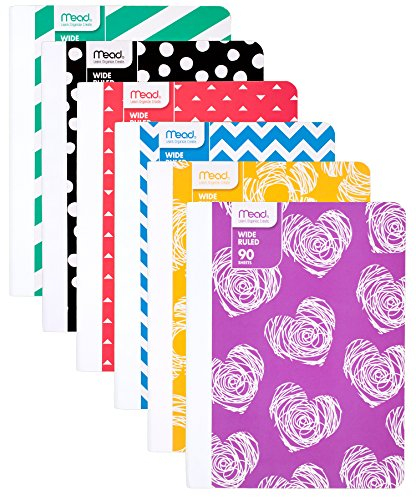 Mead Composition Notebooks Assorted 73853