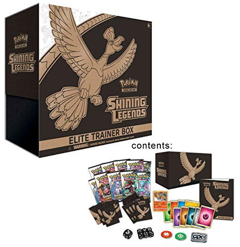 Pokemon TCG: Sun & Moon Shining Legends Elite Trainer Box Photo