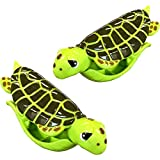 Sea Turtle BocaClips by O2COOL, Beach Towel Holders, Clips, Set of two, Beach, Patio or Pool Accessories, Portable Towel Clips, Chip Clips, Secure Clips, Assorted Styles