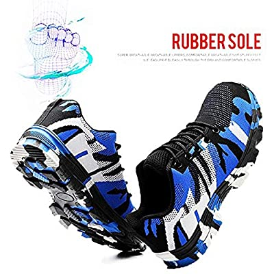 DoGeek Steel Toe Shoes Women Men Safety Shoes Construction & Industial Shoes Puncture Proof Safety Shoes: Shoes