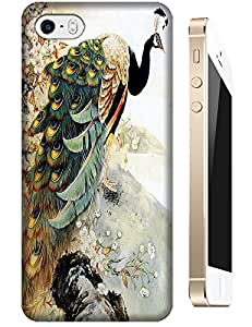 Peacock Peafowl walking fashion back cases cell phone cases for Apple Accessories iPhone 5C
