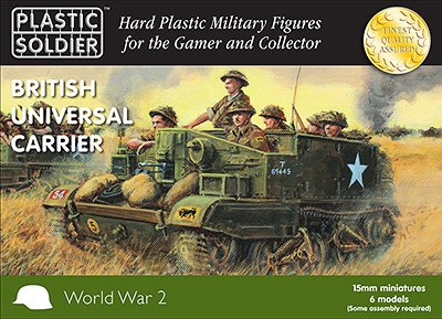 WWII Miniatures - British 1:72 Universal Carrier w/Variants