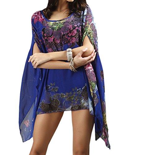 Bleu Roi Paréo Acvip Femme Unique Taille wOzOxfqXI