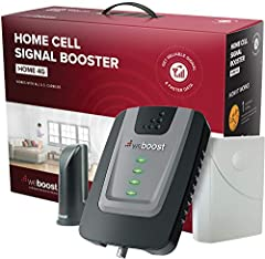 Don't let connectivity keep you from accomplishing greater things! Say goodbye to dropped calls and pave the way to a happier home or a more productive workspace with the Home 4G Cellular Signal Booster from weBoost! The weBoost Home 4...