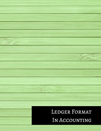 Double Entry Journal (Ledger Format In Accounting: Two Columnar Format)