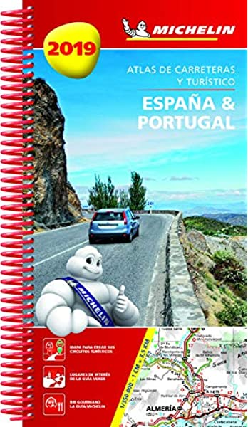 España & Portugal 2019 Atlas de carreteras y turístico Atlas de carreteras Michelin: Amazon.es: MICHELIN: Libros