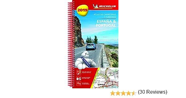 España & Portugal 2019 Atlas de carreteras y turístico Atlas de carreteras Michelin: Amazon.es: MICHELIN: Libros