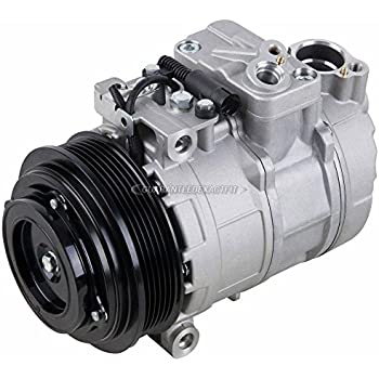 AC Compressor & A/C Clutch For Mercedes C220 C230 C280 E320 SLK230 S500 ML320 - BuyAutoParts 60-00846NA New