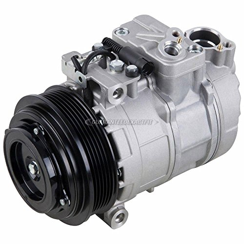 Ac Benz Mercedes Compressor (AC Compressor & A/C Clutch For Mercedes C220 C230 C280 E320 SLK230 S500 ML320 - BuyAutoParts 60-00846NA New)