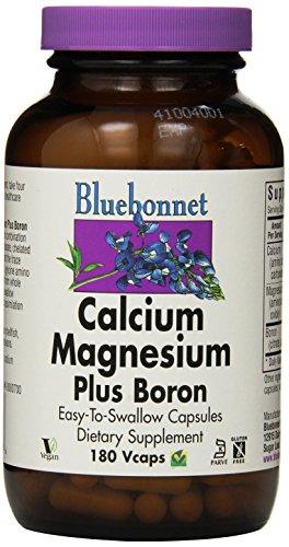 Calcium-Magnesium, Plus-Boron, 180 Vcaps - Blaue Lupine Nutrition