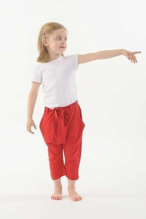 688bf920aac51 FANTAZIA Pantalon Sarouel Enfant Pur Coton Bio Ro - 5 Ans  Amazon.fr ...
