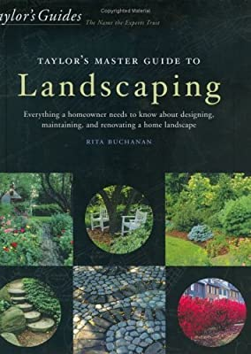 Taylor's Master Guide to Landscaping by Rita Buchanan (2000-04-30)