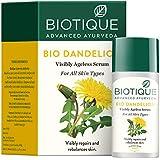 Biotique Bio Dandelion Visibly Ageless Serum, 40 ml
