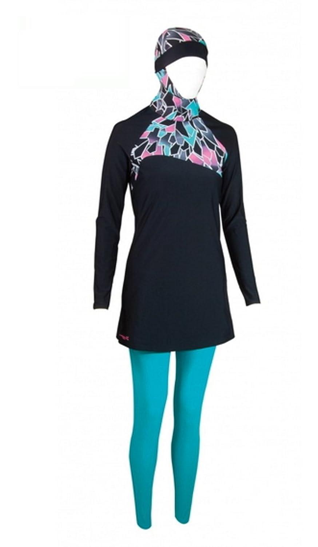 Zoggs Frauen Badebekleidung Burkini Modesty Suit