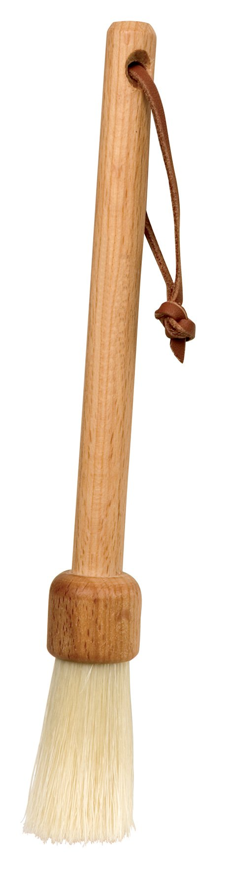 REDECKER Natural Pig Bristle Furniture Dust Brush with Oiled Beechwood Handle, 7-1/2-Inches