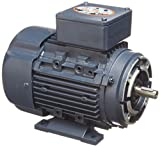 Leeson 192037.00 Rigid Base IEC Metric Motor, 3 Phase, D71C Frame, B3/B14 Mounting, 0.5HP, 3600 RPM, 230/460V Voltage, 60/50Hz Fequency