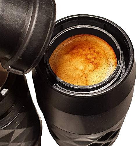 Koffiezetapparaat Draagbare Espressomachine, Handmatige Espressomachine Compatibel Met Gemalen Koffie En Capsule Ideaal Voor Kamperen, Wandelen Op Kantoor of Thuis