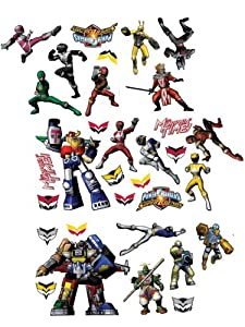 Amazing Decofun, Power Rangers Stikarounds, Repositionable Wall Stickers Part 17