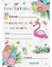 Jean Barrington Flamingo Party Invitations Pack of 20