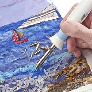 Antex craft - Fabric Master - Cautín para decorar y modelar tela, 15/30 W