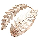 RechicGu Rose Gold Greek Roman Laurel Leaf Bracelet Armband Upper Arm C Deal (Small Image)