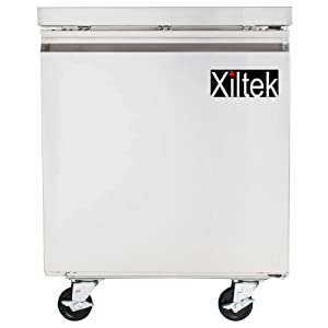 NEW XILTEK 27″ ONE STAINLESS STEEL DOOR COMMERCIAL UNDERCOUNTER REFRIGERATOR