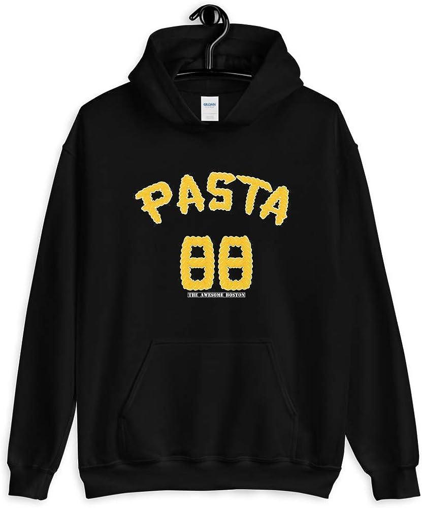 The Awesome Boston David Pastrnak Pasta Hooded Sweatshirt
