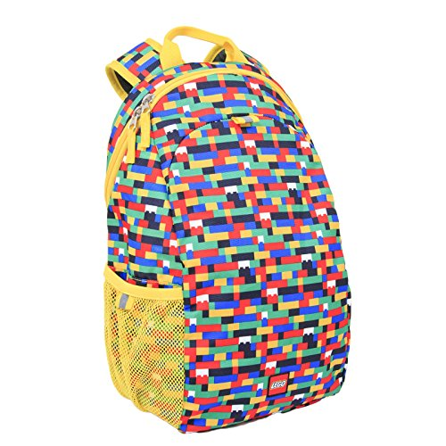 LEGO Brick Red/Blue Heritage Basic Backpack, Multi, One Size