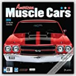 American Muscle Cars 2016 Square 12x1...