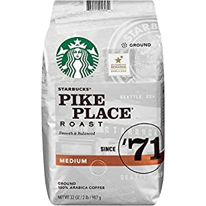 Starbucks Pike Place Medium Roast Ground Coffee by Starbucks