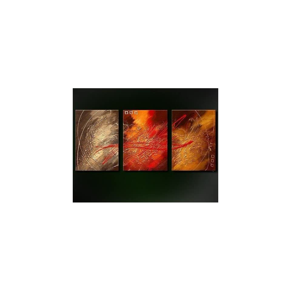 Modern Abstract Art Oil Painting STRETCHED READY TO HANG Bang Art