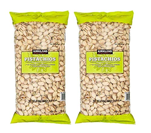 Kirkland Signature California In-Shell Roasted & Salted Pistachios: 2 Pack (6 lbs) by FCV