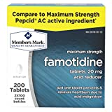 Famotidine 20mg 200 Tablets in 2-100 ct Bottles