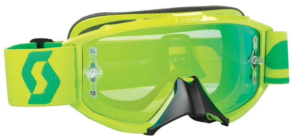 Scott Sports 89Si Pro Youth Goggles (Oxide Lime Green Frame/Green Chrome Lens)