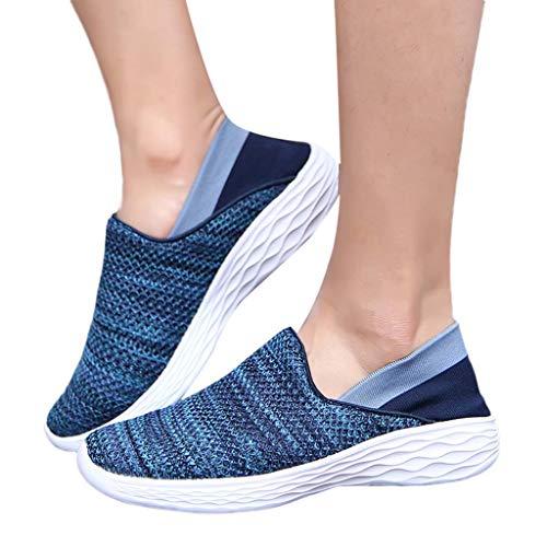 femmes En Baskets Femmes De Couple Air Plein RespirantesChaussures Décontractées Sunnywill Pour Bleu j5R3AL4q