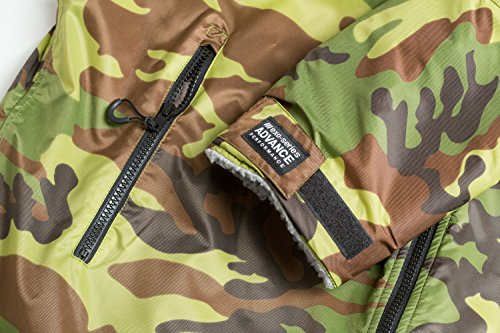Sleeve Adult Changing Camo Dryrobe Advance Change Grey Robe Poncho Long dry q641X