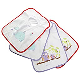 Dreambaby Pullover Bibs, 4-Count