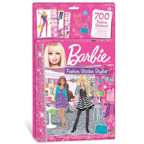 Amazon.com: Fashion Angels Barbie Sticker Stylist: Toys & Games