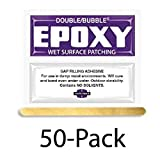 Hardman Double Bubble ''Purple-Label'' Wet-Surface & Underwater Setting Epoxy 50 Packs (#04003)