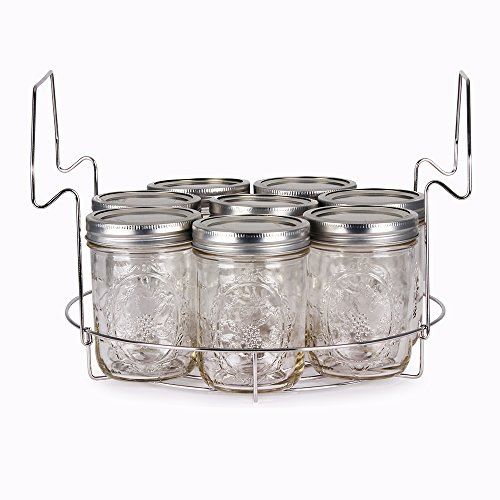 Stainless Steel Canning Rack, Flat, by VICTORIO VKP1056 by Victorio (Image #2)