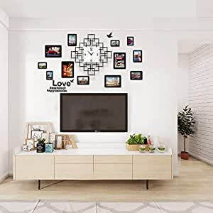 Pinjeer Sala de Estar Moderna Dormitorio silenciado Relojes de Pared Grandes Cocina Simple Sala de Estudio ...