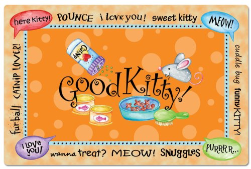 Counterart 'Good Kitty' Pet Placemat ()