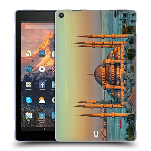 - Head Case Designs Sultan Ahmed Mosque Best of Istanbul Soft Gel Case for Amazon Fire HD 10 (2017)