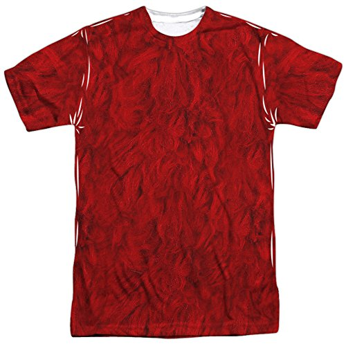 A&E Designs Elmo Costume Sublimation T-Shirt (Front & Back), Large ()