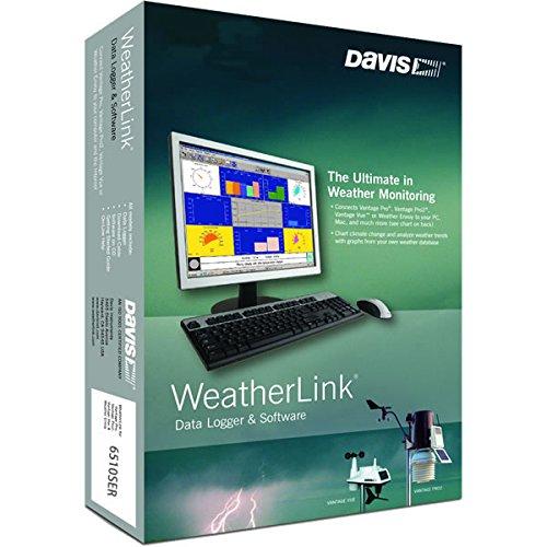Davis Instruments 6510SER Software w/ Data Logging for Vantage Pro 2, - Models Popular Indian