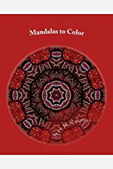 Mandalas to Color: Adult Coloring Book by Jean M Cogdell (2015-12-09) Paperback